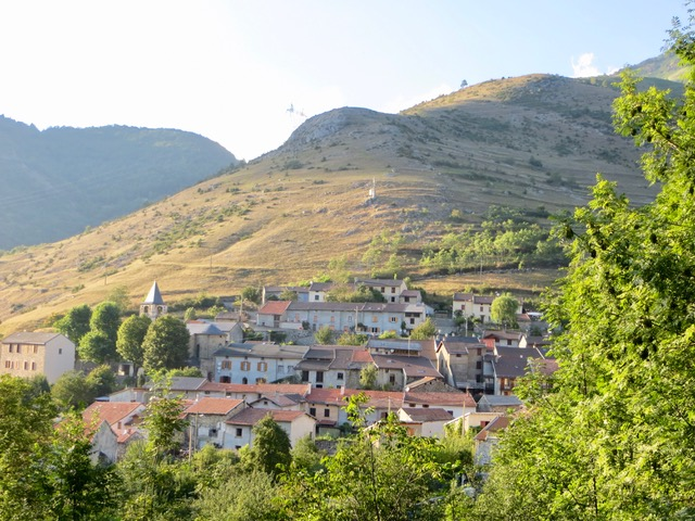 Caussou village