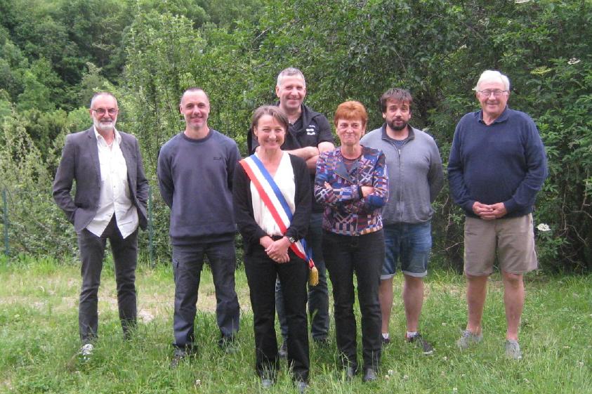 Caussou-équipe-municipale-2020